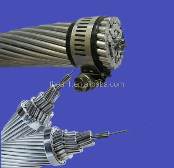 Aluminium conductors galvanised steel reinforced for extra high voltage 400 kV ACSR Cable