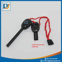 Buy Survival Whistle With Firesteel For Survival Outdoor Kits in ...