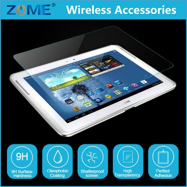 New Arrival Premium Real 9H Laptop Tempered Glass Screen Protector Film For Samsung Galaxy Tab 2 10.1 P5100 P5110 P5113