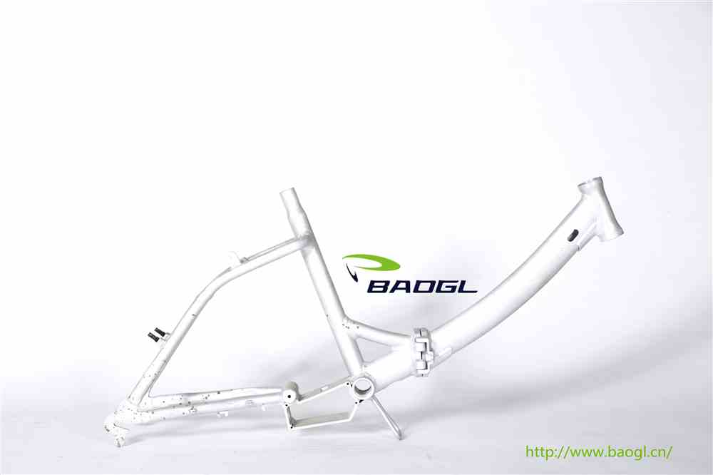 BAOGL bicycle frame for lowrider bike rims