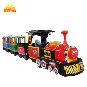 Factory indoor & outdoor electric shopping mall train kids amusement rides trackless tourist mini train cheap prices for sale
