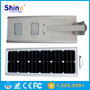 ROHS/CE/IP65 Approve 30W Intergrated Solar Powered Parking Lot Street Garden Lighting Light with Sensor
