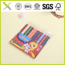 2016 most popular wooden Rainbow colored art pencil for children and artist