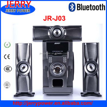 Strong SUPER bass !!!! Jerry private mold 3.1 bluetooth speaker with sd fm usb remote and led light