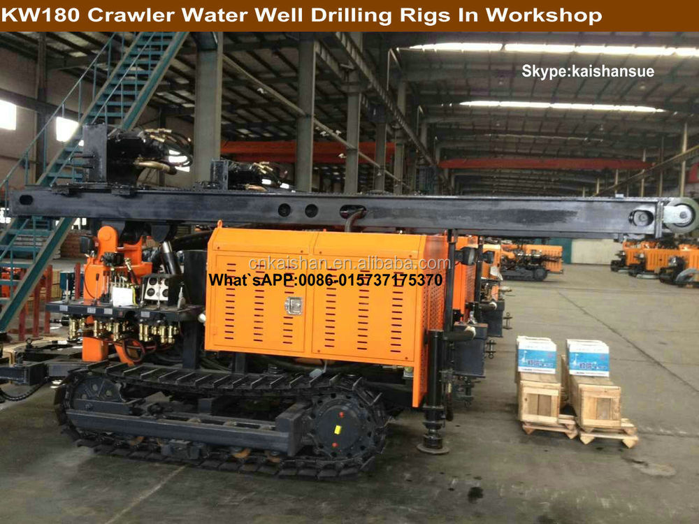 180m Water Well Drilling Rig KW180