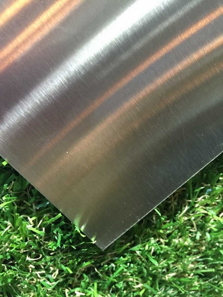 Hairline stainless steel roof sheets price per sheet buy for Barometric pressure fishing cheat sheet