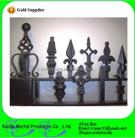 ornamental cast iron fence finials metal spear wholesale