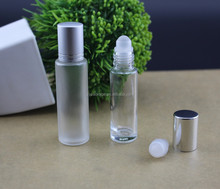 Wholesale 10ML 15ML Clear Glass Roller Empty Fany Attar Bottles 10 ml Aromatherapy Refillable Roll On Perfume Bottles