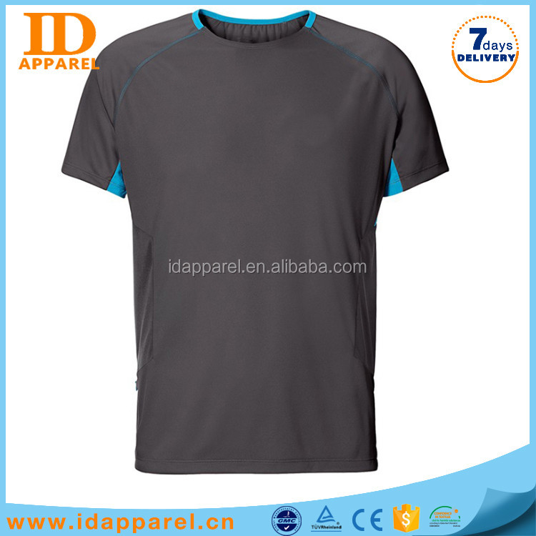 best sell non brand t shirt , man fitness t shirt technical
