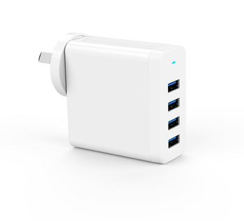 High Quality portable travel 4 Port Usb Wall Charger For Cell Phone