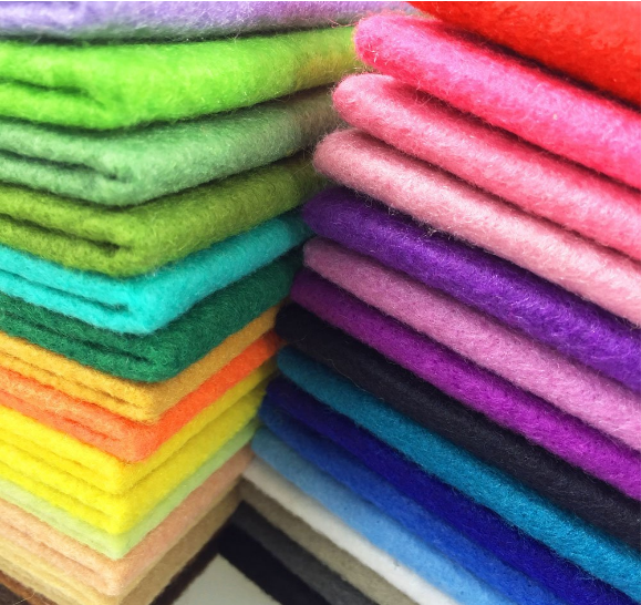 Needle Punched Factory Nonwoven Fabric 3mm 5mm Thick 100% Wool Felt for Industry