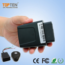 Cheap high quality real time tracking phone obd ii GPS gprs gsm car tracker