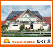 High quality complete 4kw AC off-gird solar energy systems for home use price