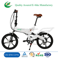 20 Inch 36V battery moped pedal assit Folding bike electric bicycle Foldable E bike (TDN11Z)