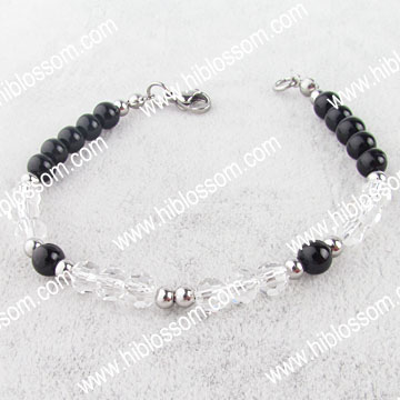 Wholesale crystal handmade colorful pearl bracelet hyderabad