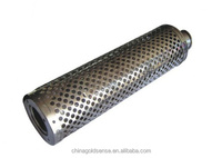 knit crochet mufflers exhaust muffler gy6 150cc stainless steel motorcycle exhaust muffler