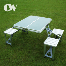 Amazing wholesale travel metal suitcase foldable aluminum outdoor camping picnic picture of folding table