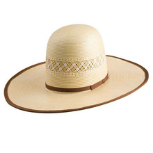 American Straw Cowboy Wheat & Natural Hat