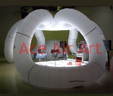 trade show equipment air inflatable arch , large inflatable arch tent inflatable trade show equipment for showroom display