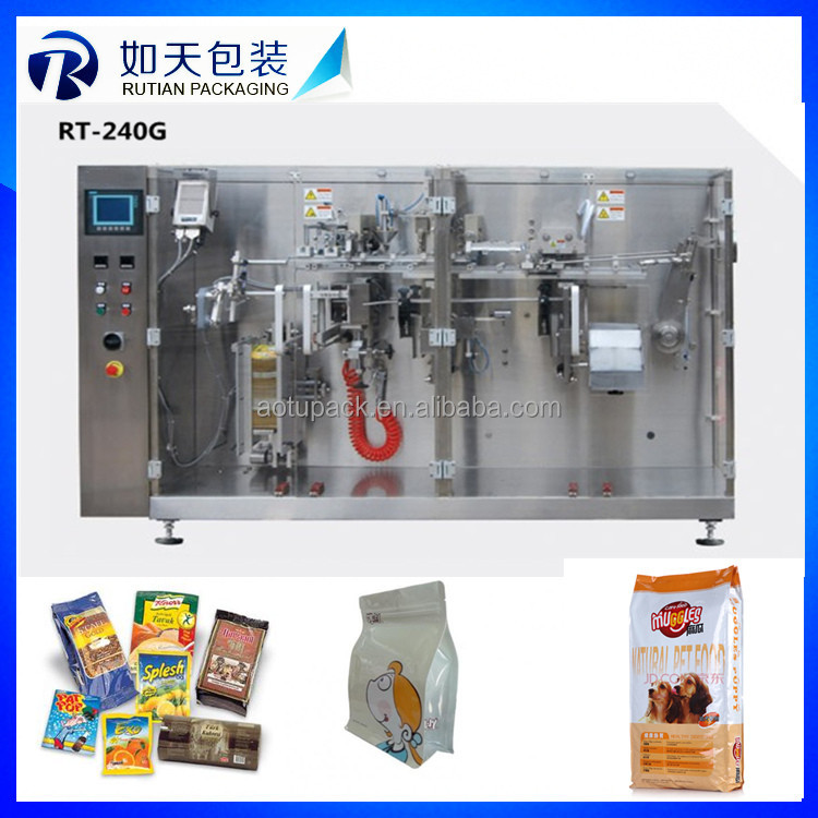 high speed SS304 Fast speed automatic pouch packing machine