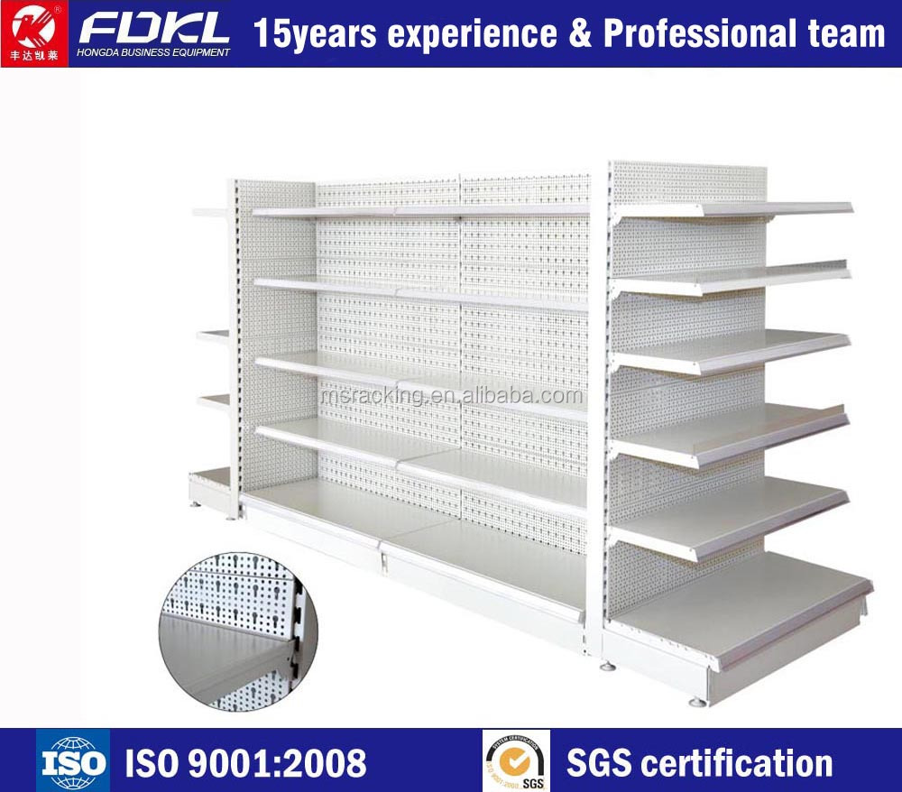 Good quality new style grocery store shelf fixtures fast delivery