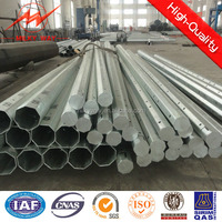 steel pole 25ft 2.75mm thickness for electrical
