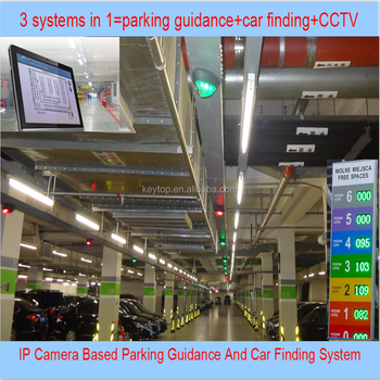 Car Location System With Parking Guidance And Car Finding Functions