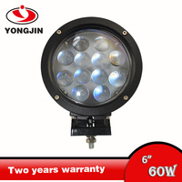 Hight brightness led working light formotorcycle cree 60w led driving light