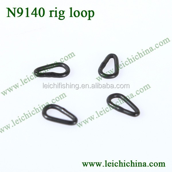 Move smoothly on the hook shank carp fishing Teardrop Rig Rings