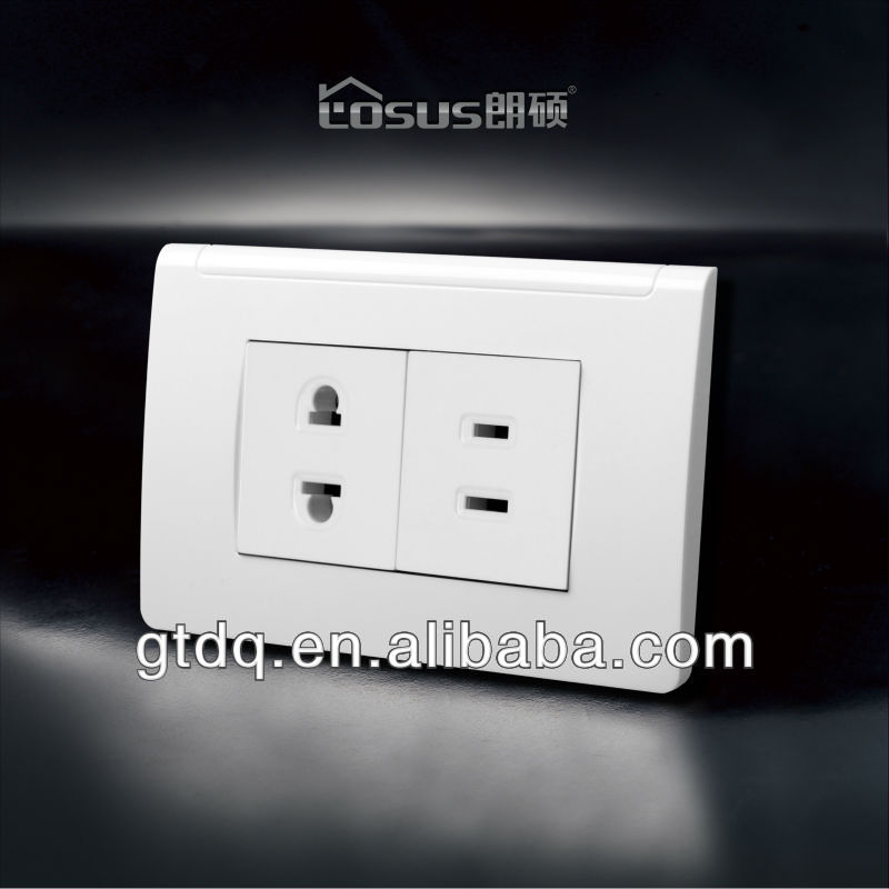 Losus 2013 American electrical outlet F6018