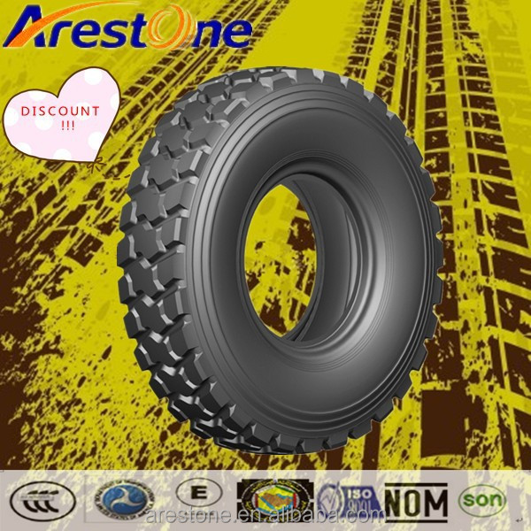 China cheap new truck tires 315/80R22.5 suitable for minning