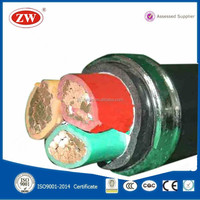 low voltage 3 cores pvc cable high flexible