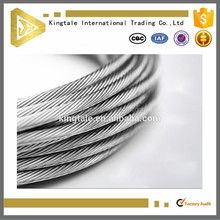 7x7 Galvanized Steel Wire Rope 1mm 2mm 3mm 4mm 5mm