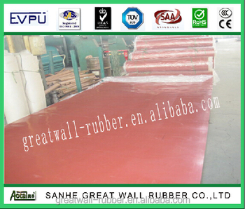 ISO 9001 CERTIFICATION High Quality 100% Pure Natural Tan/Pure Gum Rubber Sheet 10-25mpa