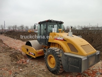 2014 tandem road roller 18 tons single vibration drum XCMG road roller for sale