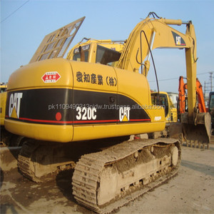 Used Caterpillar Excavator 320C, Japan Used CAT 320 325 330 Excavators for sale