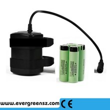 Waterproof ABS 8.4v 4800mah 4 X 18650 Rechargeable Lithium Ion Replacement Spare Battery Pack Set