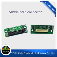 Hot selling! printing machine Parts allwin print Head Connector For konica Printer