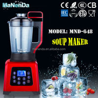 100% Coppor Motor 1800W electric commercial soup maker