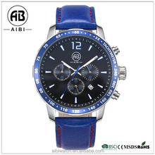 blue new design watch sports name brand wholesale watches