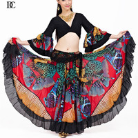 New style indian costume belly Top and Skirt gypsy dance dresses