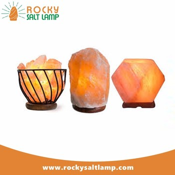 Hot Products himalayan salt lamp bowl with massage balls