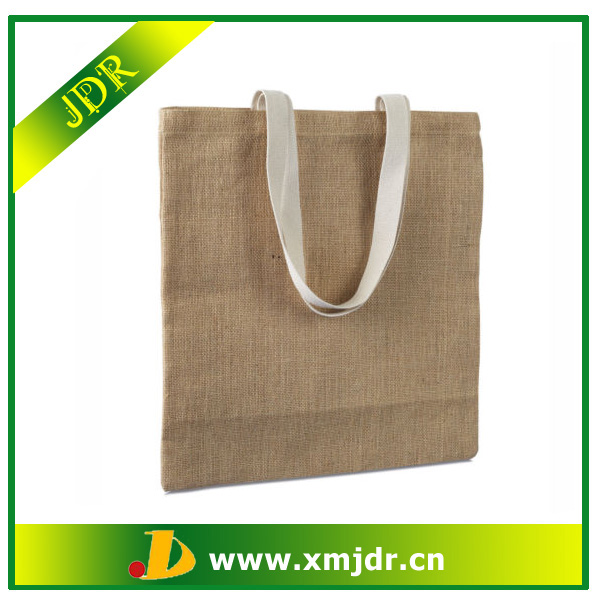 Wholesale Custom Jute <strong>Eco</strong> Friendly Shopping Bag