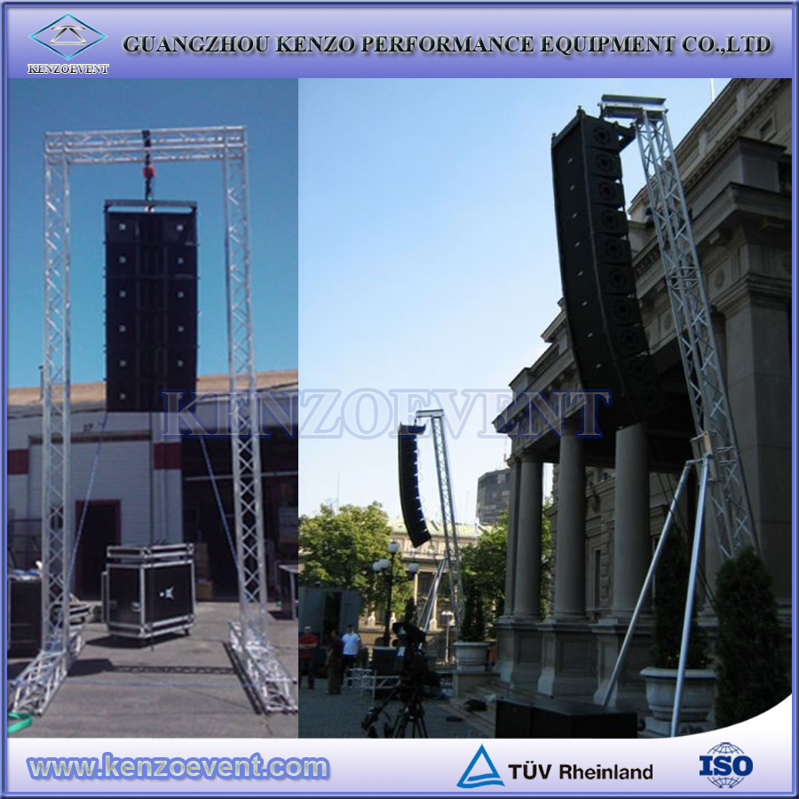factory price line array speaker truss stand tower lift