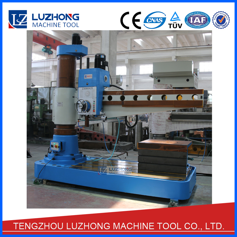 80mm Capacity Hydraulic Drilling Z3080X25A Hydraulic Radial Drill Machine Supply