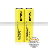 Authentic MXJO 18650 IMR 2500mah 35A 3.7v high drain rechargeable flat top battery