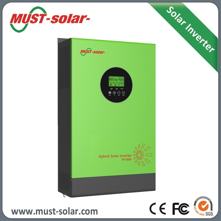 PV1800 HM 2kva dc24v solar inverter with MPPT 60A solar charger inside