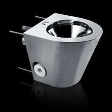 Prison Stainless steel toilet bowl