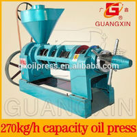 raw and cooked pressed castor seeds oil machine