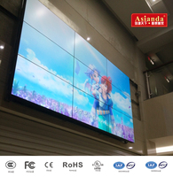 46 inch 3.5mm bezel 450nits Samsung DID video wall software for advertisment